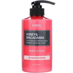 Kundal, Honey & Macadamia, Body Lotion, White Musk, 16.90 fl oz (500 ml) отзывы покупателей