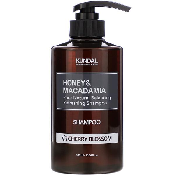 Honey & Macadamia, Shampoo, Cherry Blossom, 16.90 fl oz (500 ml)