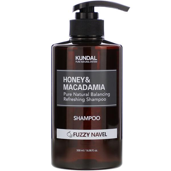 Honey & Macadamia, Shampoo, Fuzzy Navel, 16.90 fl oz (500 ml)