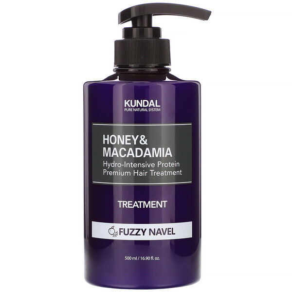 Honey & Macadamia, Treatment, Fuzzy Navel, 16.90 fl oz (500 ml)