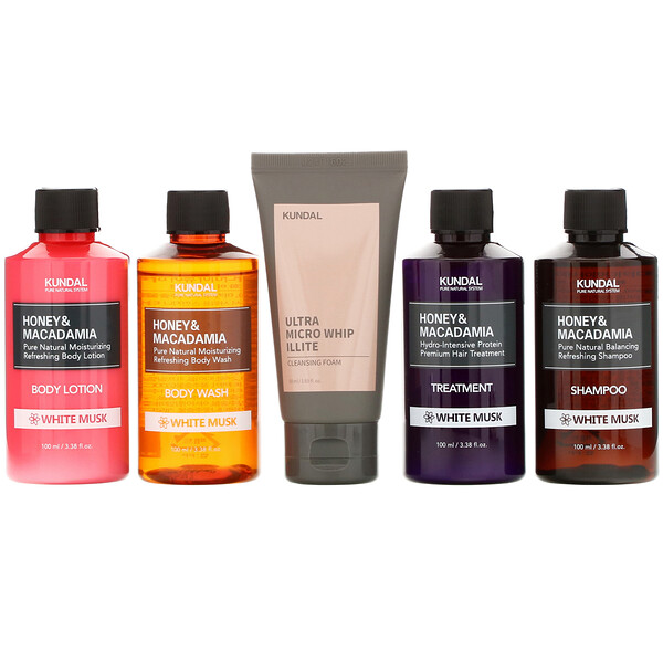 Travel Kit, White Musk, 5 Piece Kit