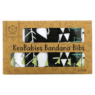 KeaBabies, Bandana Bibs, Baby Boss, 8 Pack
