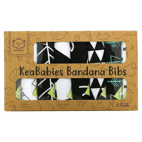 Bandana Bibs, Baby Boss, 8 Pack