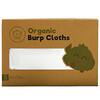KeaBabies, 有機拍嗝巾,Soft White,5 包