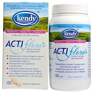 Kendy USA, Actiflora+, Potent Natural Biostimulator, 100 Veggie Caps