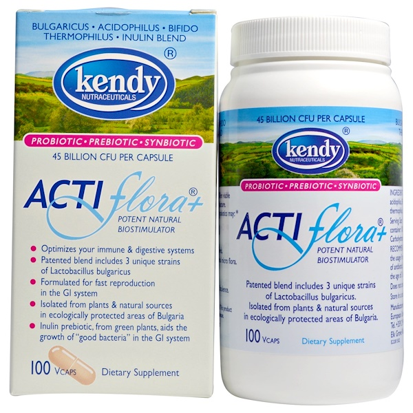 Kendy USA, Actiflora+, Potent Natural Biostimulator, 100 Veggie Caps