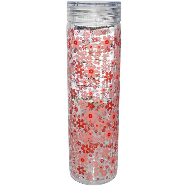 Kerplunk, Posies, Glass Bottle, 20 oz (600 ml) (Discontinued Item)