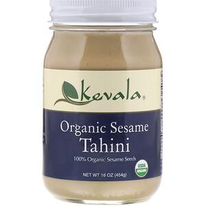 Кевала, Organic Sesame Tahini, 16 oz (454 g) отзывы покупателей