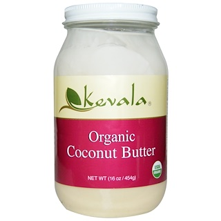 Kevala, Mantequilla de Coco Orgánica, 16 oz (454 g)