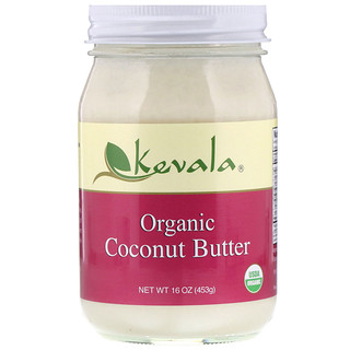 Kevala, Organic Coconut Butter, 16 oz (454 g)