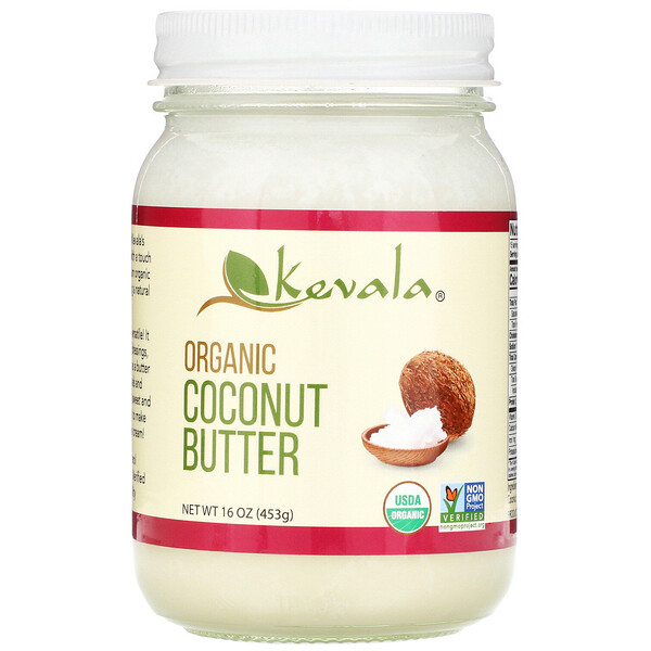 Organic Coconut Butter, 16 oz (453 g)