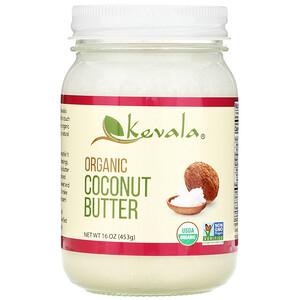 Кевала, Organic Coconut Butter, 16 oz (453 g) отзывы покупателей