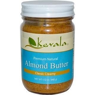 Kevala, Almond Butter, Classic Creamy, 12 oz (340 g)