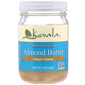 Кевала, Almond Butter, Classic Creamy, 12 oz (340 g) отзывы покупателей