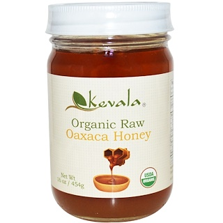 Kevala, Organic Raw Oaxaca Honey, 16 oz (454 g)