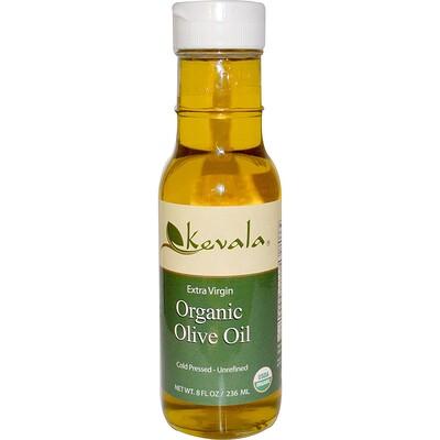 Kevala 特級初榨有機橄欖油,8液體盎司(236毫升)