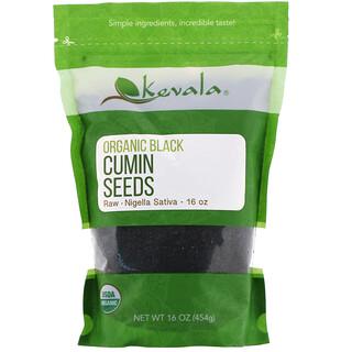 Kevala, Organic Black Cumin Seeds, Raw, 16 oz (454 g)
