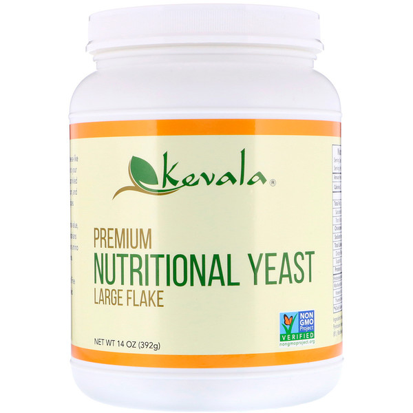 Kevala, Premium Nutritional Yeast, Large Flake, 14 oz (392 g)