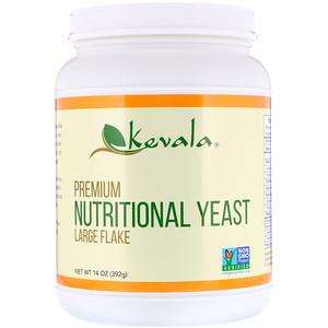 Кевала, Premium Nutritional Yeast, Large Flake, 14 oz (392 g) отзывы