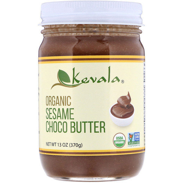 Kevala, Organic Sesame Choco Butter, 13 oz (370 g) (Discontinued Item)