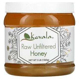 Kevala, Raw Unfiltered Honey, 3 lb (1,360 g)