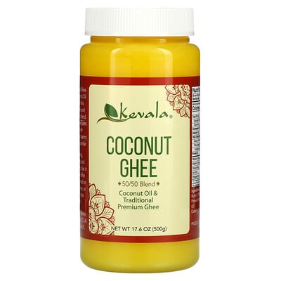 Kevala Coconut Ghee, 50/50 Blend, 17.6 oz (500 g)  - купить со скидкой