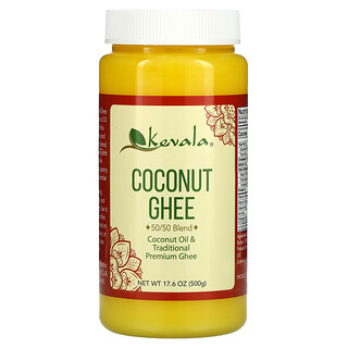 Kevala, Coconut Ghee, 50/50 Blend, 17.6 oz (500 g)