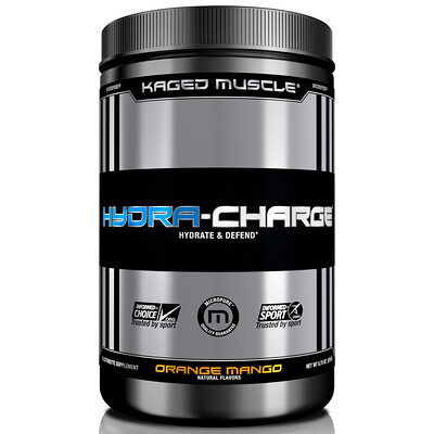 Купить Kaged Muscle Hydra-Charge, Orange Mango, 9.73 oz (276 g)