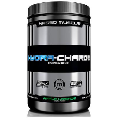 Купить Kaged Muscle Hydra-Charge, аблочный лаймад, 10, 16 унц. (288 г)