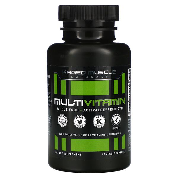 Kaged Muscle, MultiVitamin, 60 Veggie Capsules