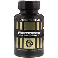 Kaged Muscle, Ferodrox睾酮支持基質,60粒蔬菜膠囊