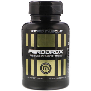 Kaged Muscle, Ferodrox Testosterone Support Matrix, 60 Vegetable Capsules