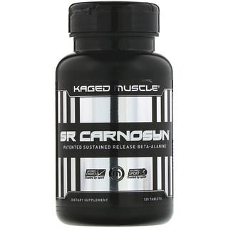 Kaged Muscle, Карнозин SR, 120 таблеток