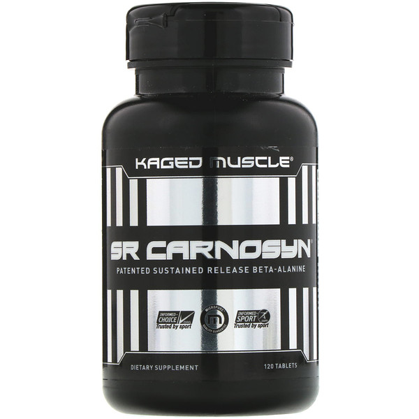 Kaged Muscle, SR カルノシン、120錠 (Discontinued Item)