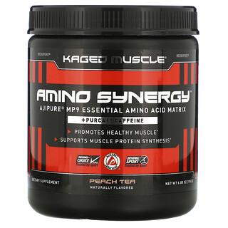 Kaged Muscle, Amino Synergy, Peach Tea, 6.88 oz (195 g)