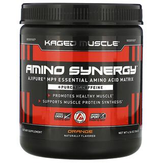 Kaged Muscle, Amino Synergy, Orange, 6.56 oz (186 g)