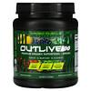 Kaged Muscle, Outlive 100,优质有机超级食品 + 绿色植物,浆果,18 盎司(510 克)