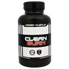 Kaged Muscle, Clean Burn, 180 Veggie Caps
