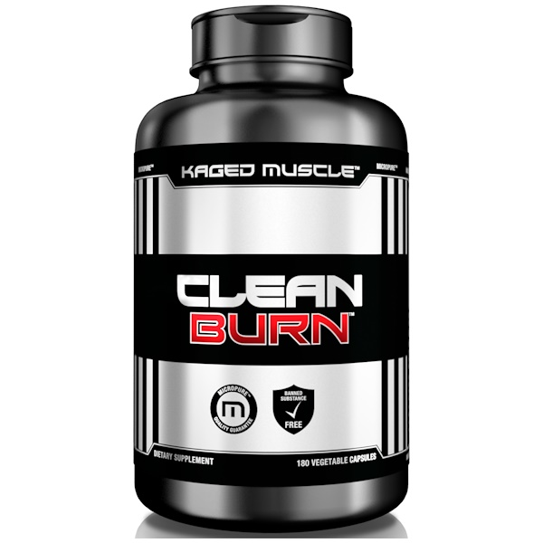 Kaged Muscle, Clean Burn, 180 Vegetable Capsules