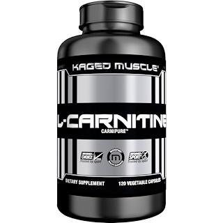 Kaged Muscle, L-Carnitina, 120 Cápsulas Vegetais