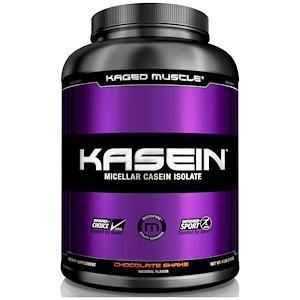 Кагетмускле, Kasein, Micellar Casein Isolate, Chocolate Shake, 4 lbs (1.8 kg) отзывы