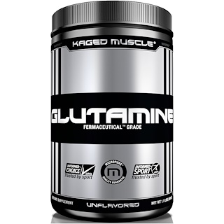 Kaged Muscle, Glutamine, Unflavored, 1.1 lbs (500 g)