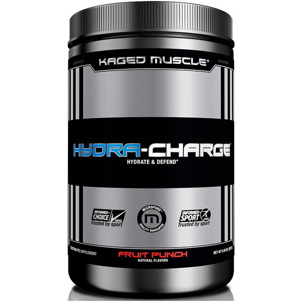 Hydra-Charge, Fruit Punch, 9.95 oz (282 g)
