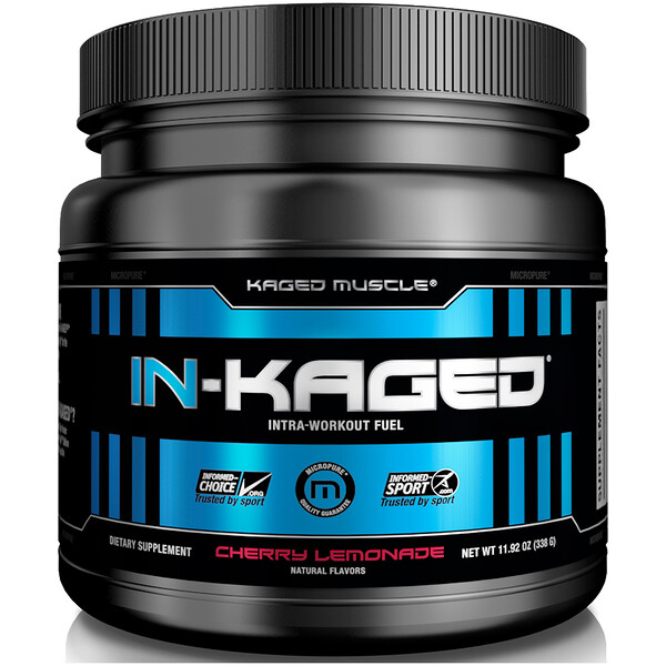 IN-KAGED, Intra-Workout Fuel, Cherry Lemonade, 11.92 oz (338 g)