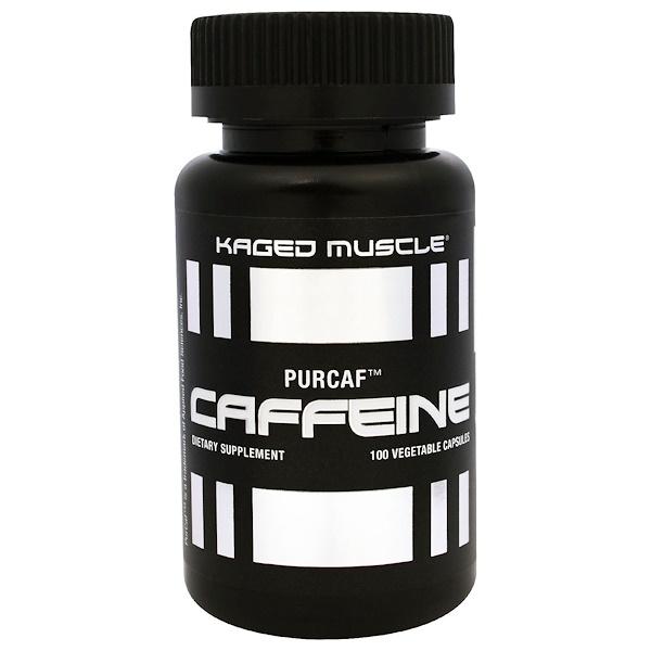 Kaged Muscle, PurCaf, Caffeine, 100 Veggie Caps