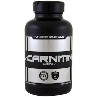 Kaged Muscle, L-Carnitine, 250 Veggie Caps