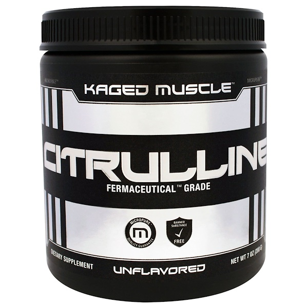 Kaged Muscle, Citrulline, Unflavored, 7 oz (200 g)