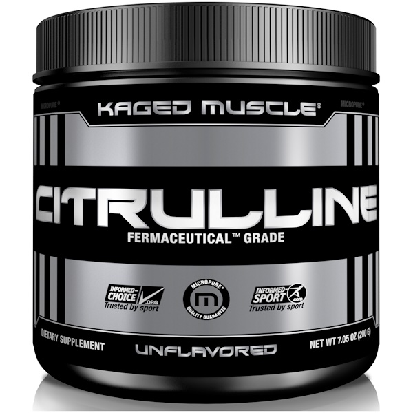 Citrulline, Unflavored, 7.05 oz (200 g)