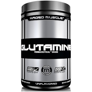 Kaged Muscle, Glutamine, Unflavored, 9.6 oz (300 g)
