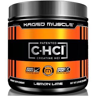Kaged Muscle, Патентованная пищевая добавка, креатина гидрохлорид, без ароматизаторов, 1,98 унции (56,25 г)